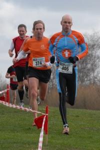 Bauke in actie Zaanland cross 2014